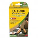 Futuro Revitalizing Ultra Sheer Knee Highs Socks, Nude, Large, Moderate