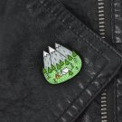 Mountains Nature Forest Camping Adventure Amateur Enamel Pin Badge