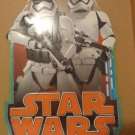 NEW EMBOSSED COLLECTIBLE STAR WARS STORM TROOPER METAL WALL DECOR PLAQUE
