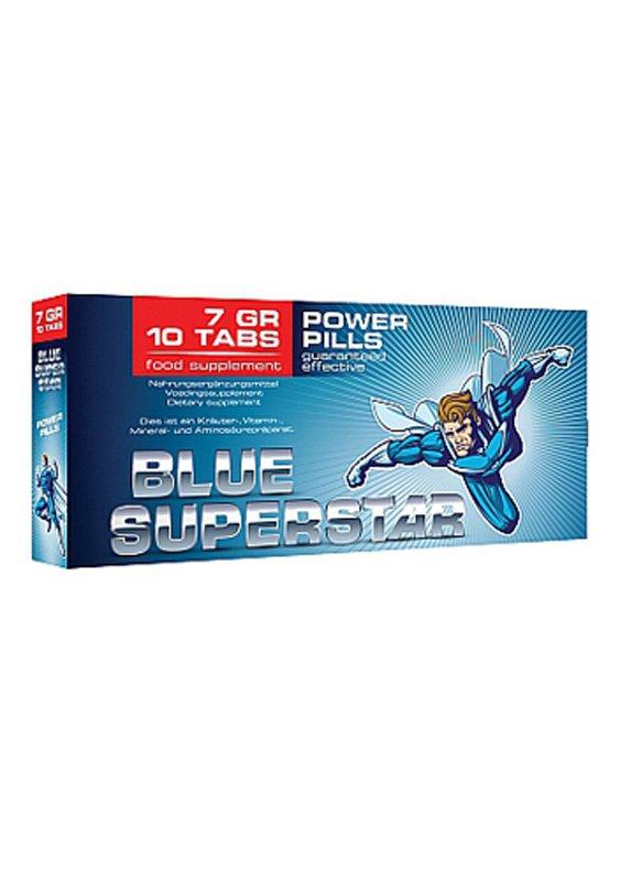 Natural Blue Superstar Erection Pills for Men