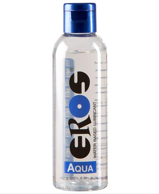 Lubricant Eros Aqua Medical Water Lube Intimate Personal Glide  3.4 fl oz 100ml