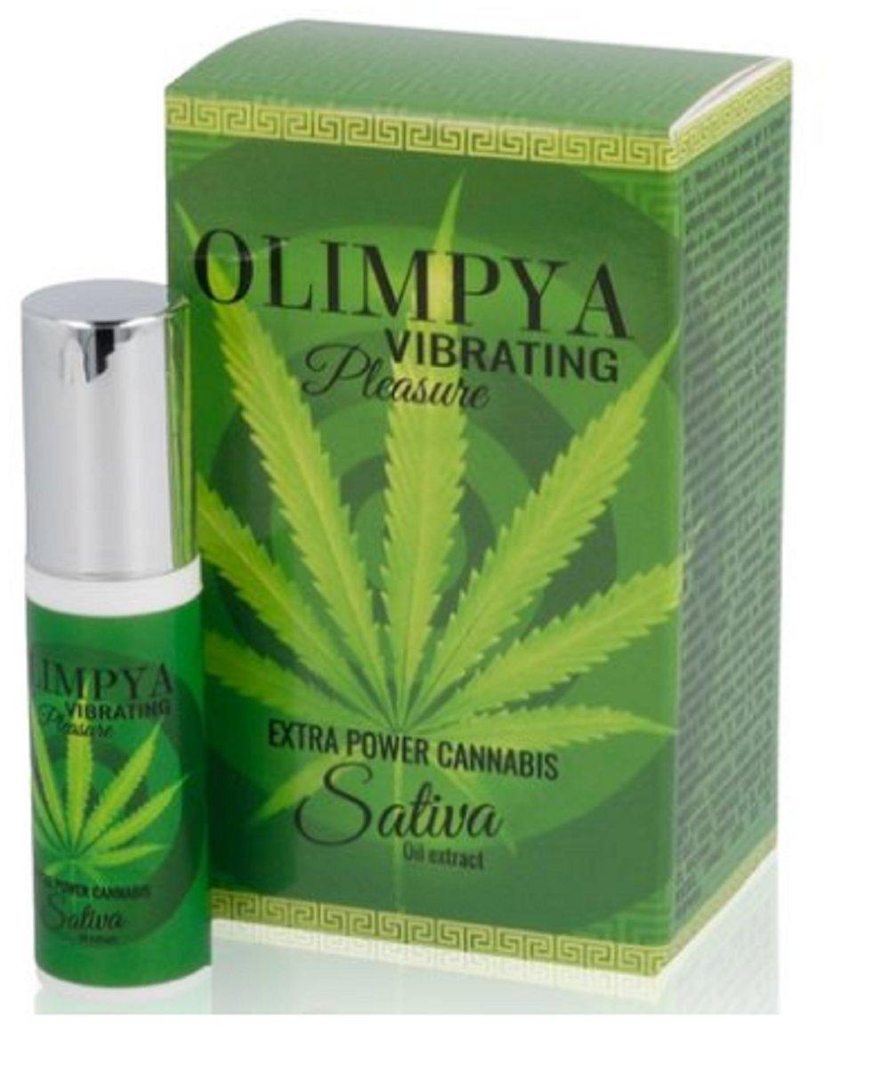 Olimpya Vibrating Cannabis Sativa Maria Enhancer Oil Seed Hemp Weed Stimulant Aphrodisiac 6ml
