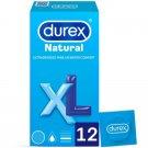Durex Comfort XL Condoms Extra Large Strong Safe 100% Genuine 12-pcs pack