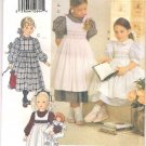 VOGUE Pattern No. 8608, 5-6-6X Dress & Pinafore