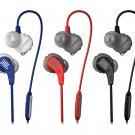 JBL Endurance RUN Sweatproof Wired Sports In-Ear Headphones Earbuds