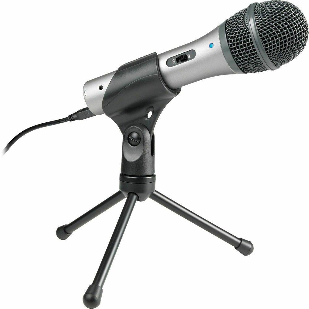 Audio-Technica ATR2100-USB Cardioid Dynamic USB XLR Microphone