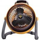 "Vornado 3-Speed 10"" Heavy Duty Whole Room Air Circulator Shop Fan w/ 10 ft Cord"