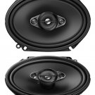 "Pioneer TS-A6880F 6""x8"" 350 Watts 4-Way Coaxial Car Speaker"