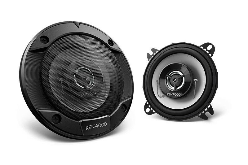 "Kenwood 4"" 2-Way Round Coaxial Car Speaker with 440W Max Power - KFC-1066S"