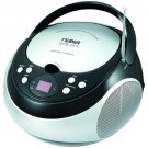 Naxa Portable CD Player with AM/FM Stereo Radio and 3.5mm Aux Input   NPB-251
