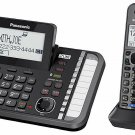Panasonic 2-Line Corded/Cordless Phone with 2 Handsets & Answering Machine