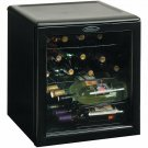 Danby 1.8 Cu.Ft. 17-Bottle Counter-Top Beverage Wine Cooler - Black