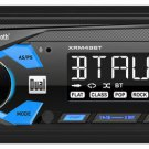 Dual 1-DIN Digital Media Receiver Car Stereo with Bluetooth Aux USB | XRM49BT