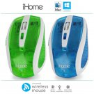iHome Translucent Plug-n-Play Universal Wireless Optical Mouse