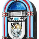 Victrola Retro Desktop Bluetooth Jukebox with CD Player FM Radio LED Lights
