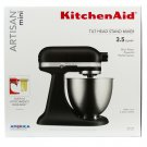 KitchenAid Artisan Mini 3.5 Quart Tilt-Head Stand Mixer - Matte Black