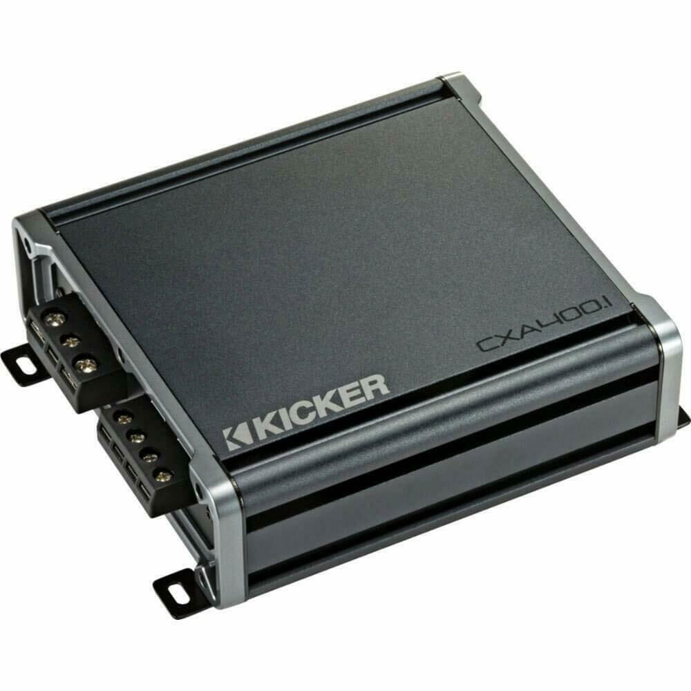 Kicker CX400.1 Class-D 800 Watts Peak Mono Car Amplifier