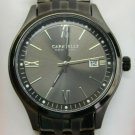 Caravelle New York Men's Gunmetal Finish Watch #45B137