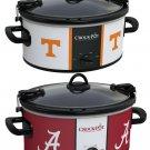 Crock-Pot Cook & Carry 6-Qt. Slow Cooker TN Volunteers/AL Crimson Tide