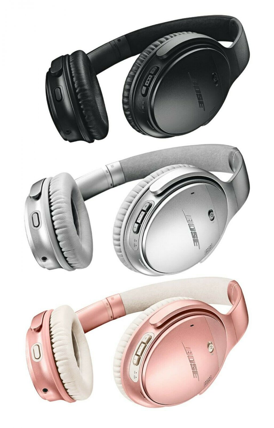 Bose QuietComfort 35 II Bluetooth Wireless Noise-Canceling Headphones