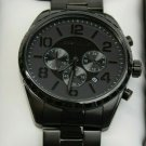 Caravelle Men's Stainless Chronograph Watch with Black Ion Finish #45B150