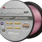 Monster Platinum XP MKIII Clear Jacket Mini Spool 50 ft. Compact Speaker Cable
