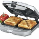 Cuisinart Electric Nonstick Dual Sandwich Maker Grill Toaster