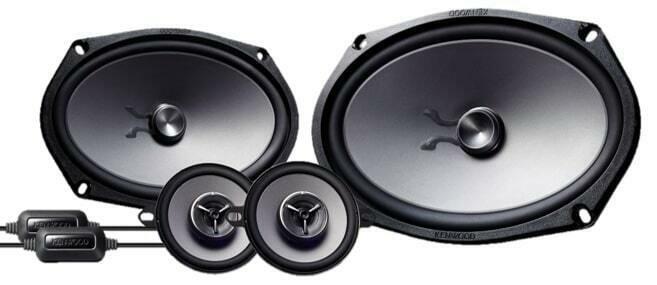 "Kenwood eXcelon KFC-XP6903C 300 Watts 6x9"" + 3-1/2"" Car Component Speakers"