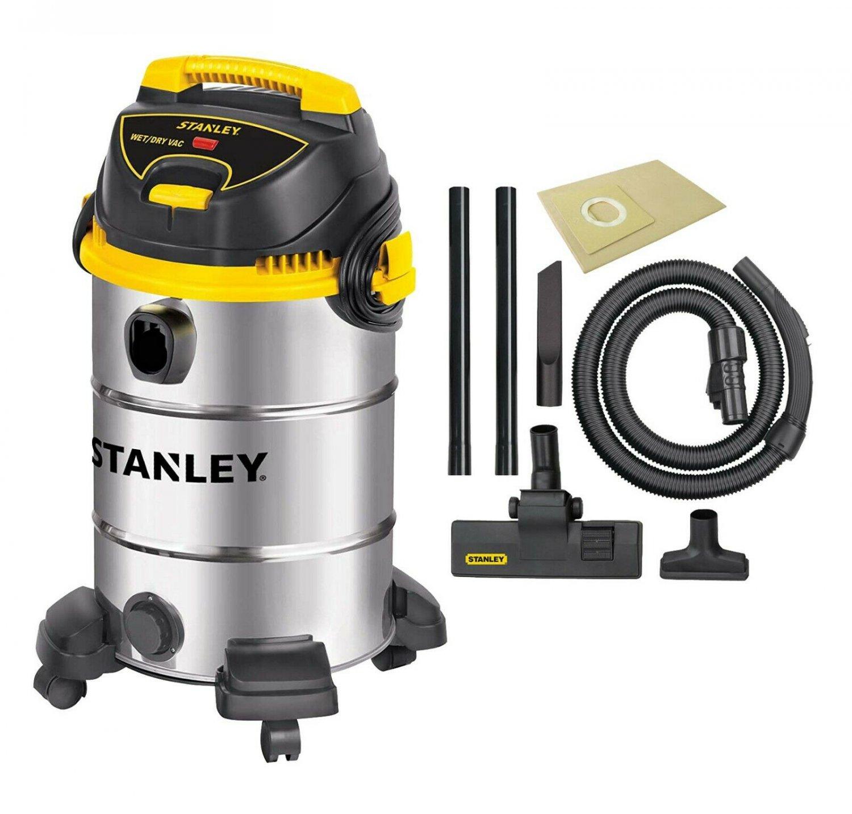 Stanley 8 Gal. 4.5 Horsepower Wet Dry Car Shop Vacuum - SL18017