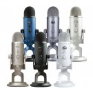 Blue Yeti USB Wired Cardioid Omnidirectional Bidirectional Microphone