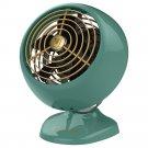 Vornado VFAN Mini Classic Vintage Portable Personal Air Circulator Fan- Green