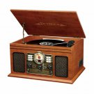 Victrola Nostalgic Bluetooth Record Player 3-Speed Turntable with CD & Cassette