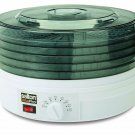 Salton Collapsible Adjustable Temperature Food Fruit Herb Dehydrator Dryer