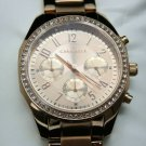 Caravelle Women's Chronograph Watch with Crystal Accents in Rose Gold, #44L240