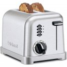 Cuisinart Metal Classic 2-Slice Toaster in Stainless Steel   CPT-160