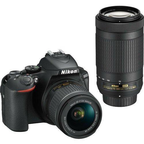 Nikon D5600BUND 1580 Nikon D5600 DSLR Camera w/ 18-55mm / 70-300mm Lenses