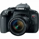 Canon EOS Rebel T7i 24.2MP DSLR Camera with 18-55mm Lens Wi-Fi NFC Bluetooth