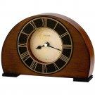 Bulova B7340 Tremont Desk Clock with Antique Walnut Finish