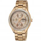 Citizen Women's Eco-Drive Stainless Analog Watch in Rose Gold Finish, FD106357X