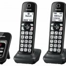 Panasonic Link2Cell DECT 6.0 Cordless Phone w/ Answering System and 4 Handsets