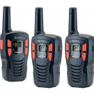Cobra 16-Mile 22-Channel Two-Way Radio Walkie Talkie with - 3 Pack