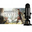 Yeti Blackout USB Microphone & Assassin's Creed Odyssey Game Bundle