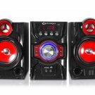 Technical Pro 500W 2.1-Ch Mini Shelf Bluetooth Speaker System w/Karaoke Function