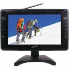 "SuperSonic 10"" Rechargeable Portable Digital LCD TV with USB SD AV Input"