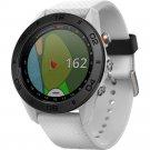 Garmin Approach S60 GPS Golf Watch Activity Tracker Smart Watch - White
