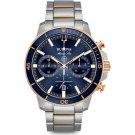 Bulova Men's Stainless Marine Star Chronograph Watch, 98B301