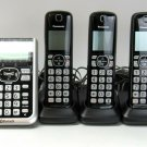 Panasonic DECT 6.0 Link2Cell Bluetooth Cordless Phone, 5 Handsets #KXTGF575