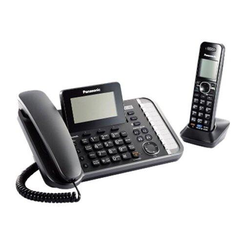 Panasonic 2-Line DECT 6.0 Corded/Cordless Link2Cell Telephone | KX-TG9581B
