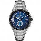 Seiko Men's Coutura Radio Sync Solar Powered Watch in Silver, SSG019