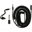 """GE Universal 18 Ft. Audio Extension Kit with 3.5mm to 1/4"""" Jack in Black #33612"""